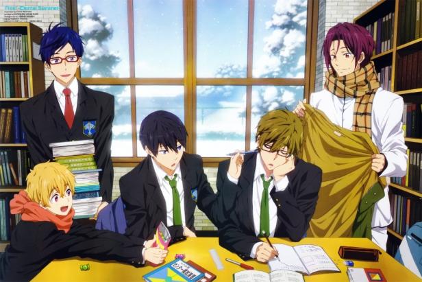 OtakuErrante.com-Revista-Newtype-Enero-2015-Anime-Posters-free-eternal-summer